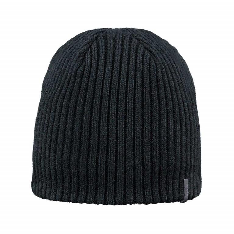 Barts Wilbert Beanie Black, Farbe: schwarz, Marke: Barts, EAN: 8717457075360, Bild 1 von 1