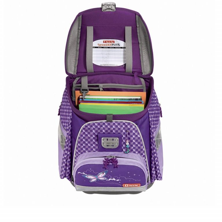 Step by Step Touch Flash Schulranzen-Set 5-tlg. Pegasus Purple, Farbe: flieder/lila, Marke: Step by Step, Abmessungen in cm: 33.0x38.5x23.5, Bild 4 von 6