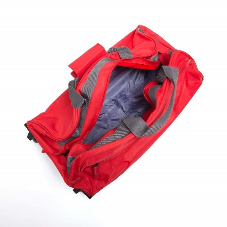 Travelite Basic Rollenreisetasche 55cm Blau, Farbe: blau/petrol, Marke: Travelite, Abmessungen in cm: 55.0x29.0x27.0, Bild 2 von 3