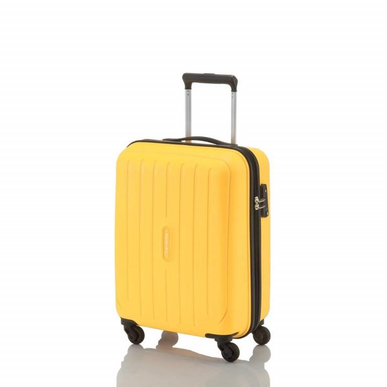 Travelite Uptown 4-Rad Bordtrolley 55cm Gelb, Farbe: gelb, Manufacturer: Travelite, Dimensions (cm): 38.0x55.0x20.0, Image 2 of 4