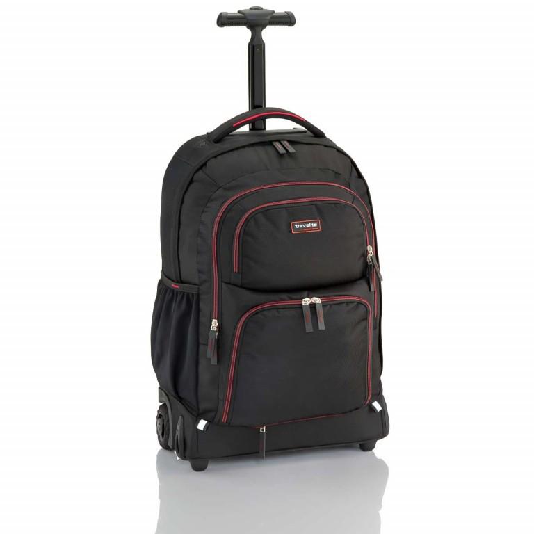 Travelite Filou 2-Rad Rucksack-Trolley 56cm Schwarz, Farbe: schwarz, Marke: Travelite, Abmessungen in cm: 35.0x56.0x16.0, Bild 1 von 11