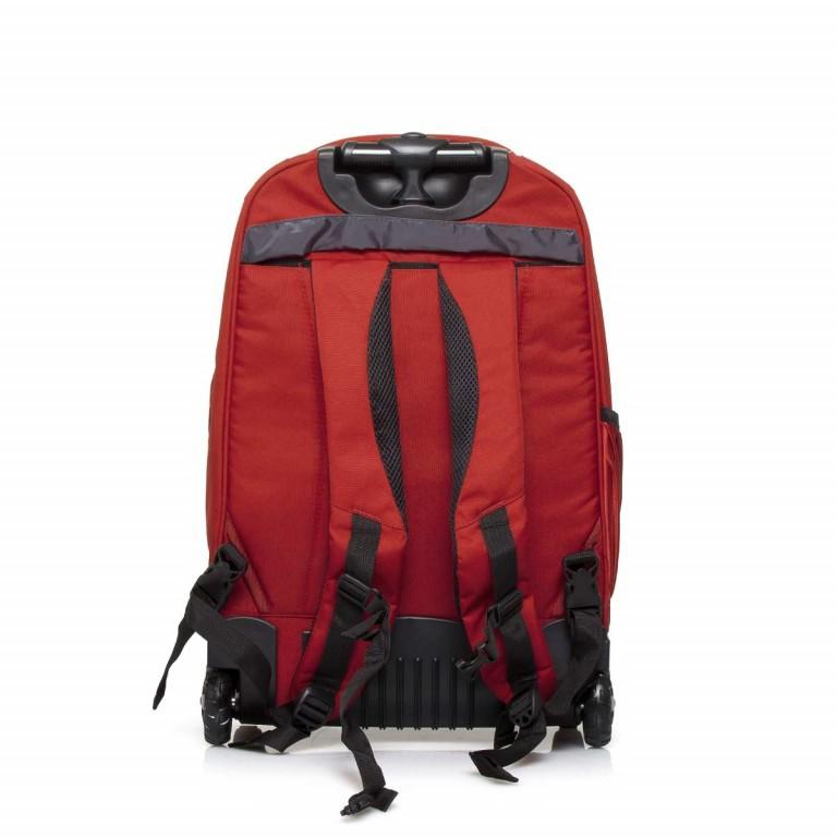 Travelite Filou 2-Rad Rucksack-Trolley 56cm Rot, Farbe: rot/weinrot, Marke: Travelite, Abmessungen in cm: 35.0x56.0x16.0, Bild 9 von 11