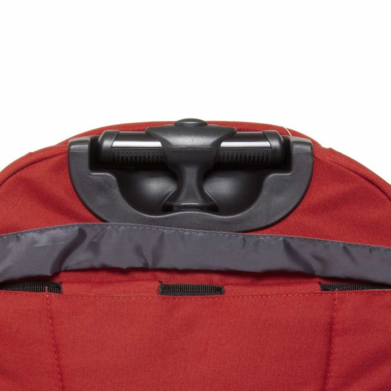 Travelite Filou 2-Rad Rucksack-Trolley 56cm Rot, Farbe: rot/weinrot, Marke: Travelite, Abmessungen in cm: 35.0x56.0x16.0, Bild 7 von 11