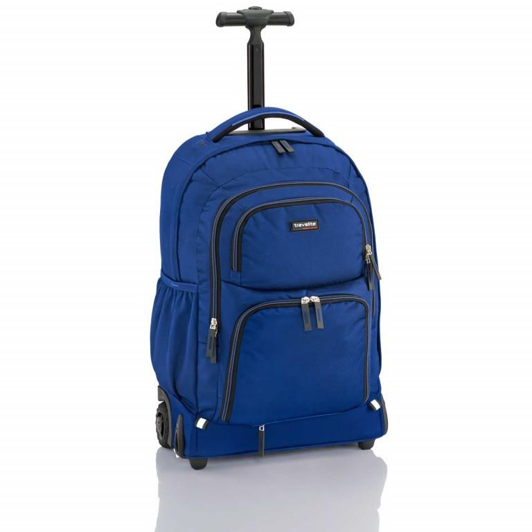 Travelite Filou 2-Rad Rucksack-Trolley 56cm Blau, Farbe: blau/petrol, Marke: Travelite, Abmessungen in cm: 35.0x56.0x16.0, Bild 1 von 11