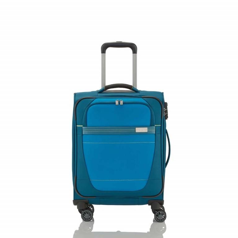 Travelite Meteor 4-Rad Trolley 55cm Petrol, Farbe: blau/petrol, Marke: Travelite, Abmessungen in cm: 38.0x55.0x20.0, Bild 1 von 4