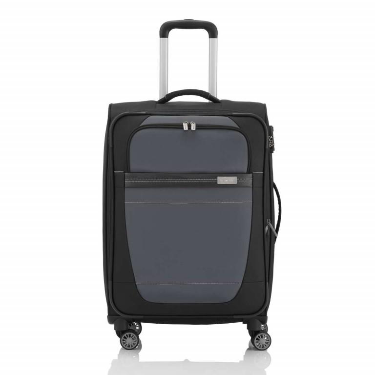 Travelite Meteor 4-Rad Trolley 66cm Schwarz, Farbe: schwarz, Marke: Travelite, Bild 1 von 4