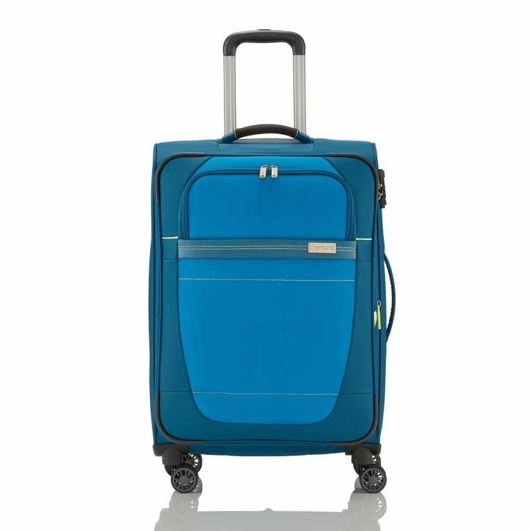Travelite Meteor 4-Rad Trolley 66cm Petrol, Farbe: blau/petrol, Marke: Travelite, Bild 1 von 4