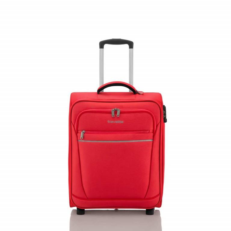 Travelite Cabin 2-Rad Bordtrolley 55cm Rot, Farbe: rot/weinrot, Marke: Travelite, Abmessungen in cm: 40.0x55.0x20.0, Bild 1 von 5