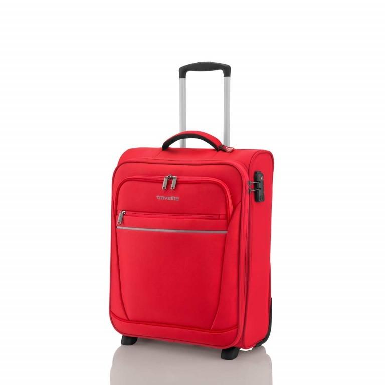 Travelite Cabin 2-Rad Bordtrolley 55cm Rot, Farbe: rot/weinrot, Marke: Travelite, Abmessungen in cm: 40.0x55.0x20.0, Bild 2 von 5