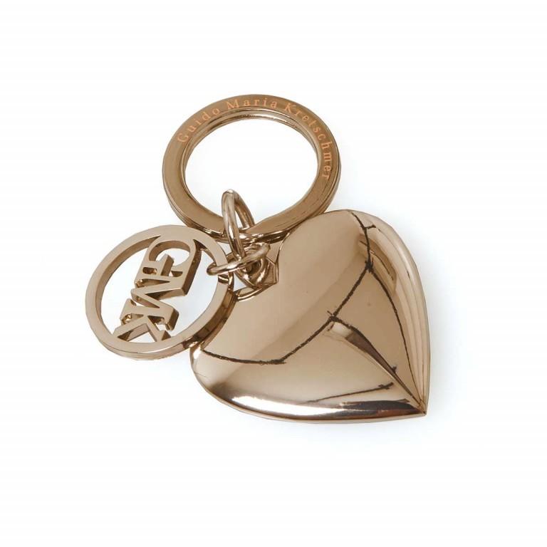 GUIDO MARIA KRETSCHMER Sonja Schlüssel-Anhänger Gold, Farbe: metallic, Marke: Guido Maria Kretschmer, EAN: 4250875148970, Abmessungen in cm: 4.0x4.0x0.3, Bild 1 von 2