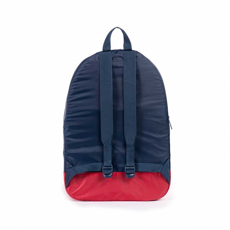 Herschel Rucksack Packable Daypack Navy Red, Farbe: blau/petrol, Marke: Herschel, EAN: 828432012114, Abmessungen in cm: 32.0x45.0x14.0, Bild 3 von 4