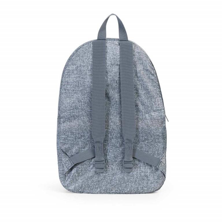 Herschel Rucksack Packable Daypack Raven Crosshatch, Farbe: grau, Marke: Herschel, EAN: 828432091881, Abmessungen in cm: 32.0x45.0x14.0, Bild 3 von 4