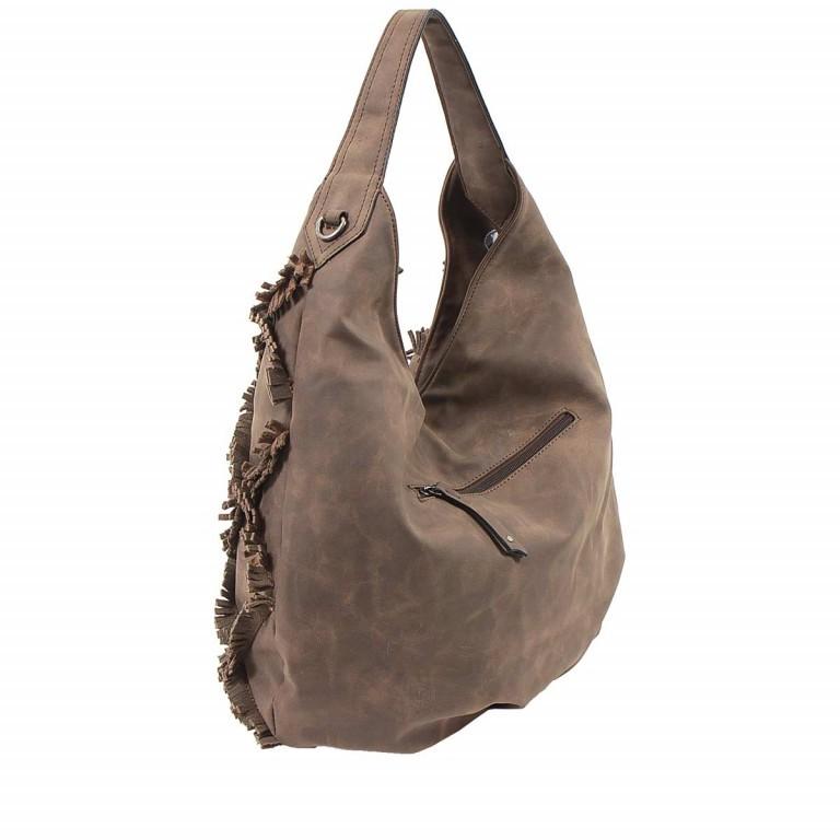 SURI FREY Molly Beutel Reißverschluss Synthetik Brown, Farbe: braun, Marke: Suri Frey, Abmessungen in cm: 37.0x33.0x17.0, Bild 4 von 6