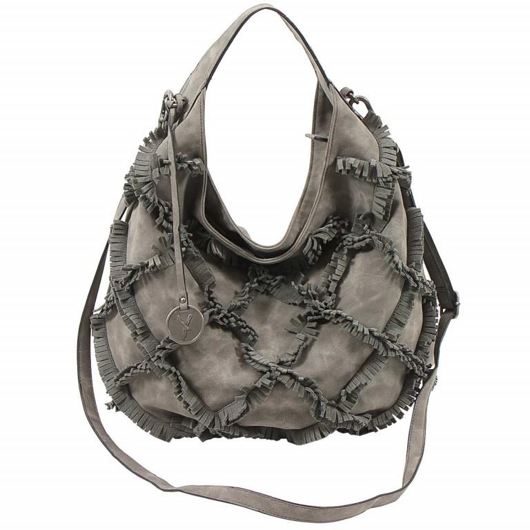 SURI FREY Molly Beutel Reißverschluss Synthetik Dark Grey, Farbe: grau, Manufacturer: Suri Frey, Dimensions (cm): 37.0x33.0x17.0, Image 2 of 6