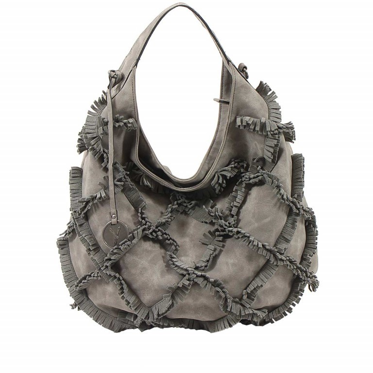 SURI FREY Molly Beutel Reißverschluss Synthetik Dark Grey, Farbe: grau, Manufacturer: Suri Frey, Dimensions (cm): 37.0x33.0x17.0, Image 1 of 6
