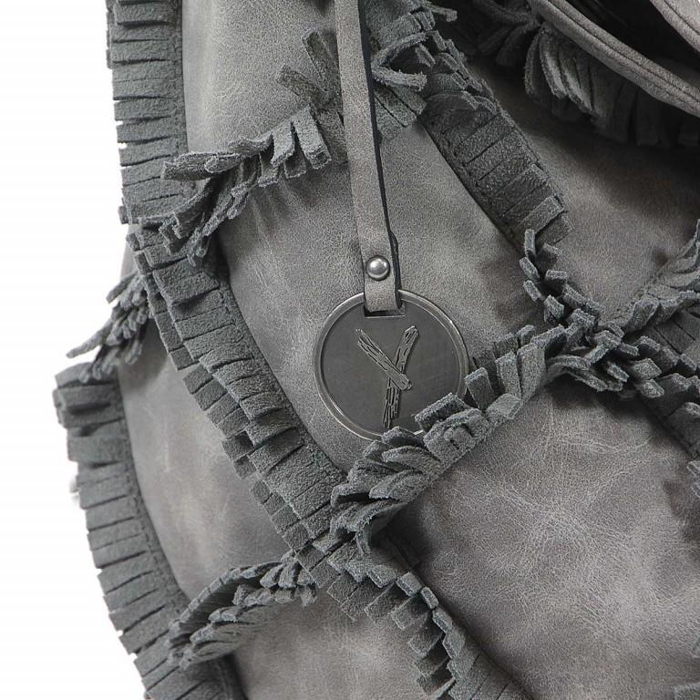 SURI FREY Molly Beutel Reißverschluss Synthetik Dark Grey, Farbe: grau, Manufacturer: Suri Frey, Dimensions (cm): 37.0x33.0x17.0, Image 5 of 6