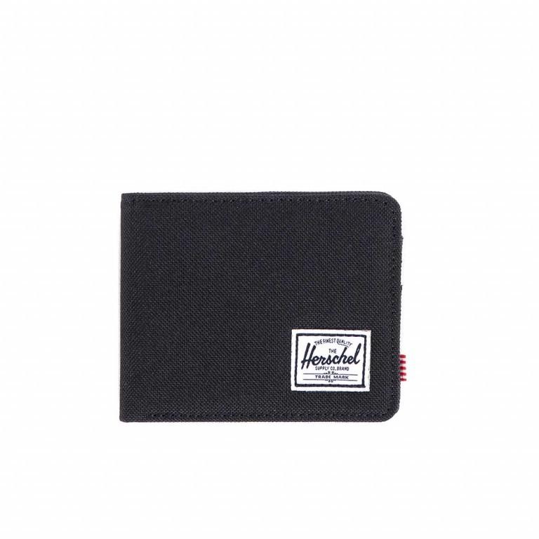 Herschel Roy Coin Wallet Black, Farbe: schwarz, Marke: Herschel, EAN: 828432039272, Abmessungen in cm: 11.0x9.0x2.0, Bild 1 von 3
