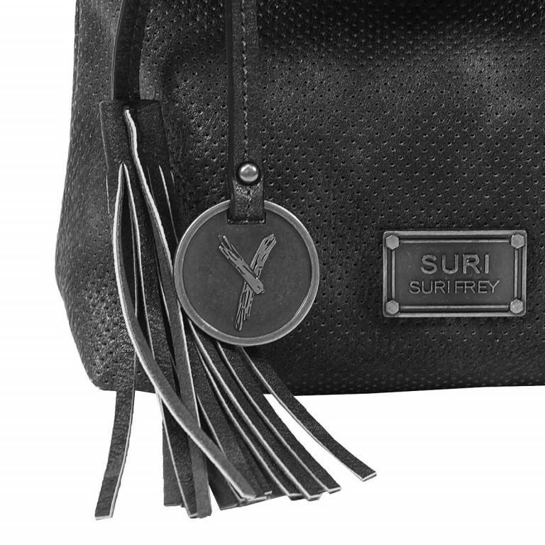 SURI FREY Romy Beutel XS Reißverschluss Synthetik Black, Farbe: schwarz, Manufacturer: Suri Frey, Dimensions (cm): 21.0x18.0x7.0, Image 5 of 6