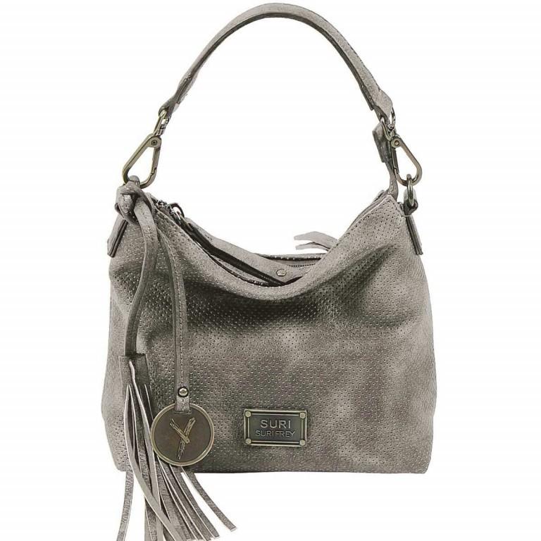 SURI FREY Romy 10200 Beutel XS Reißverschluss Dark Grey, Farbe: grau, Marke: Suri Frey, Abmessungen in cm: 21.0x18.0x7.0, Bild 1 von 5