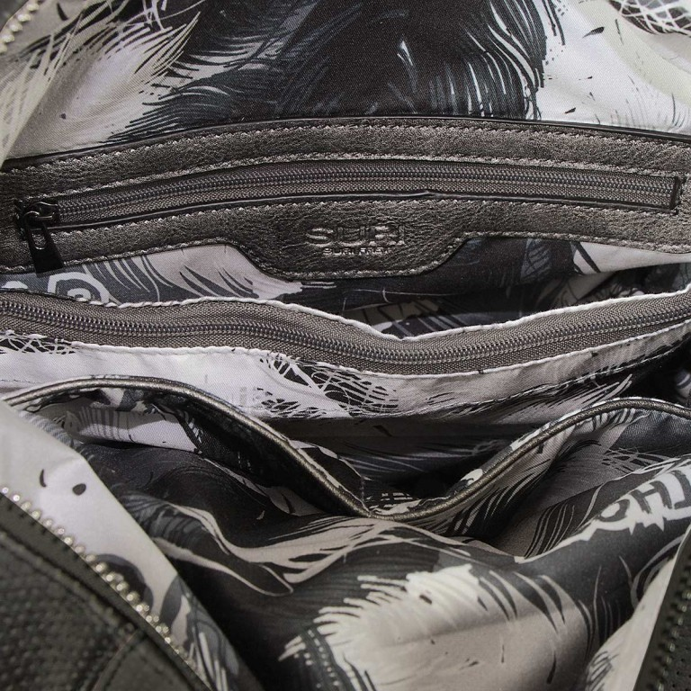 SURI FREY Romy Bowlingbag L Synthetik Black, Farbe: schwarz, Marke: Suri Frey, Abmessungen in cm: 32.0x27.0x15.0, Bild 5 von 5