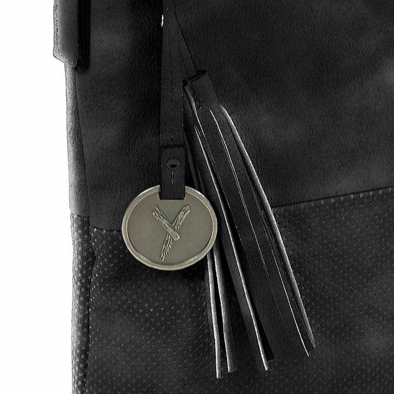 SURI FREY Romy 10214 Schultertasche M Synthetik Black, Farbe: schwarz, Marke: Suri Frey, Abmessungen in cm: 27.0x26.0x5.0, Bild 7 von 8