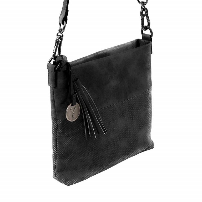 SURI FREY Romy 10214 Schultertasche M Synthetik Black, Farbe: schwarz, Marke: Suri Frey, Abmessungen in cm: 27.0x26.0x5.0, Bild 4 von 8