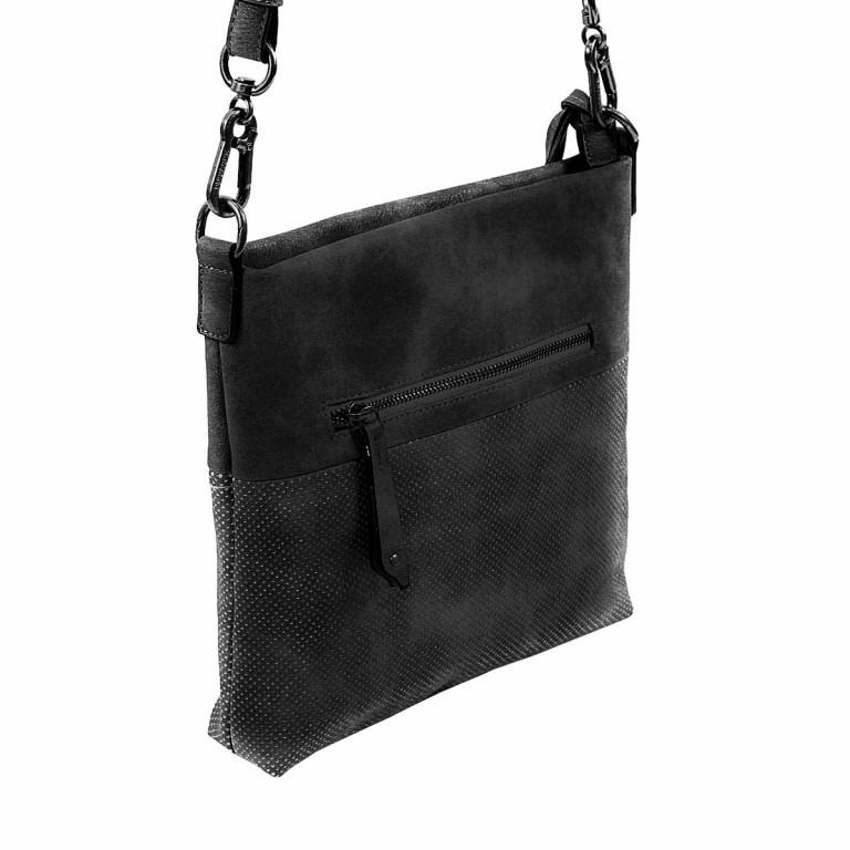 SURI FREY Romy 10214 Schultertasche M Synthetik Black, Farbe: schwarz, Marke: Suri Frey, Abmessungen in cm: 27.0x26.0x5.0, Bild 6 von 8