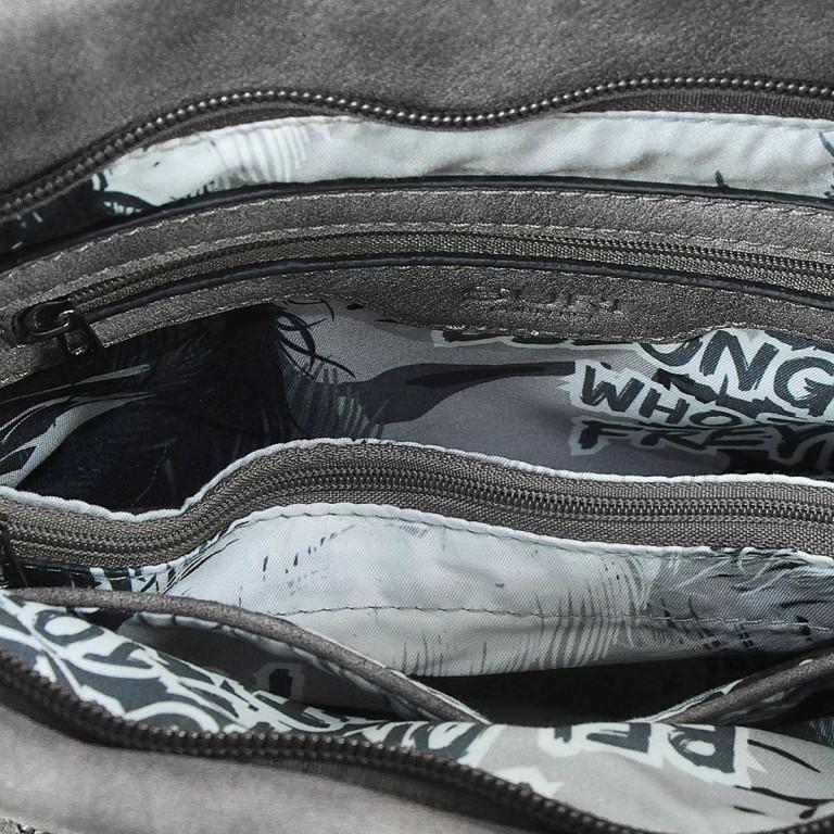 SURI FREY Romy 10214 Schultertasche M Synthetik Black, Farbe: schwarz, Marke: Suri Frey, Abmessungen in cm: 27.0x26.0x5.0, Bild 8 von 8