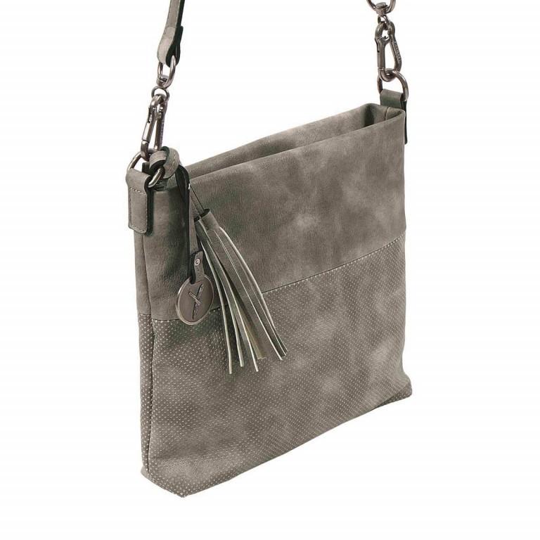 SURI FREY Romy 10214 Schultertasche M Synthetik Dark Grey, Farbe: grau, Marke: Suri Frey, Abmessungen in cm: 27.0x26.0x5.0, Bild 4 von 8