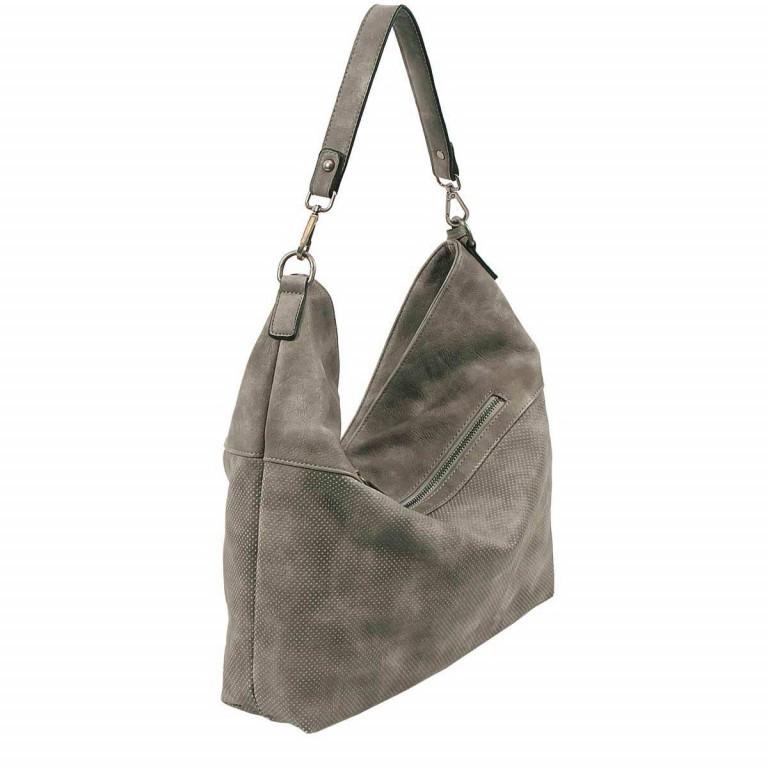 SURI FREY Romy Beutel M Reißverschluss Synthetik II Dark Grey, Farbe: grau, Marke: Suri Frey, Abmessungen in cm: 42.0x33.0x10.0, Bild 3 von 5