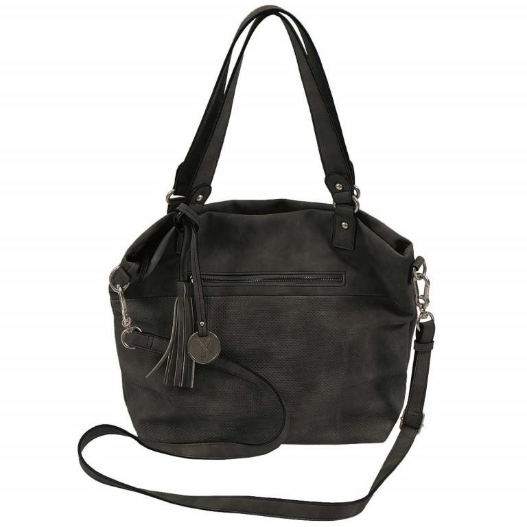 SURI FREY Romy 10218 Shopper M Reißverschluss Synthetik Black, Farbe: schwarz, Marke: Suri Frey, Abmessungen in cm: 34.0x30.0x12.0, Bild 2 von 5