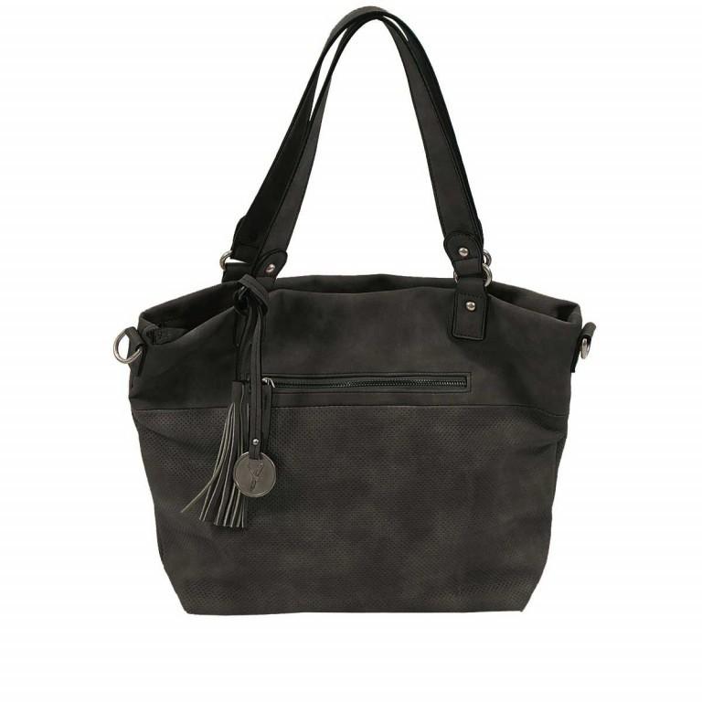 SURI FREY Romy 10218 Shopper M Reißverschluss Synthetik Black, Farbe: schwarz, Marke: Suri Frey, Abmessungen in cm: 34.0x30.0x12.0, Bild 1 von 5