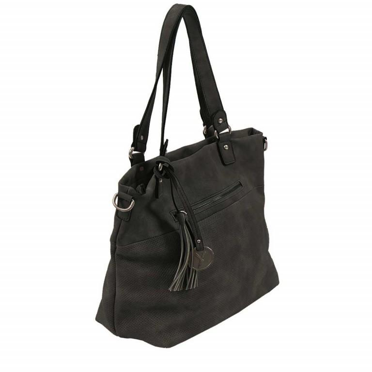 SURI FREY Romy 10218 Shopper M Reißverschluss Synthetik Black, Farbe: schwarz, Marke: Suri Frey, Abmessungen in cm: 34.0x30.0x12.0, Bild 3 von 5