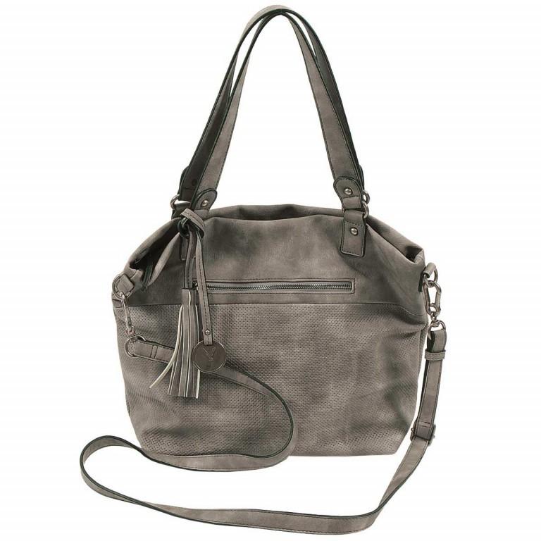 SURI FREY Romy 10218 Shopper M Reißverschluss Synthetik Dark Grey, Farbe: grau, Marke: Suri Frey, Abmessungen in cm: 34.0x30.0x12.0, Bild 2 von 5