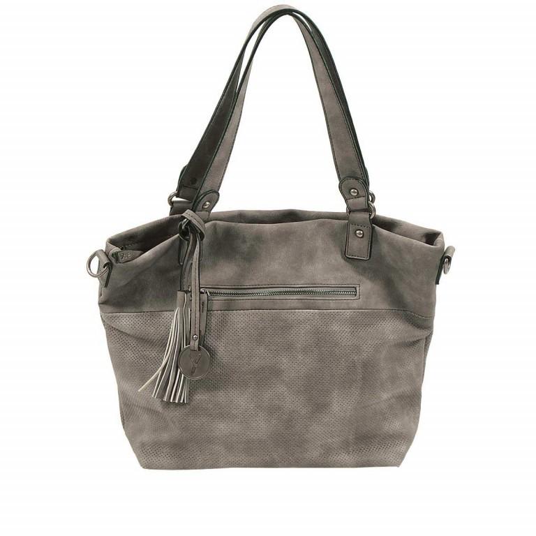 SURI FREY Romy 10218 Shopper M Reißverschluss Synthetik Dark Grey, Farbe: grau, Marke: Suri Frey, Abmessungen in cm: 34.0x30.0x12.0, Bild 1 von 5