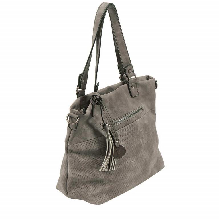 SURI FREY Romy 10218 Shopper M Reißverschluss Synthetik Dark Grey, Farbe: grau, Marke: Suri Frey, Abmessungen in cm: 34.0x30.0x12.0, Bild 4 von 5