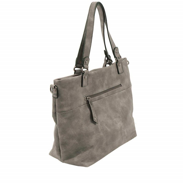 SURI FREY Romy 10218 Shopper M Reißverschluss Synthetik Dark Grey, Farbe: grau, Marke: Suri Frey, Abmessungen in cm: 34.0x30.0x12.0, Bild 3 von 5
