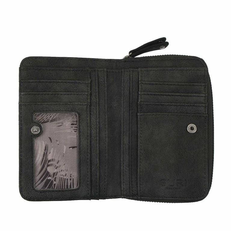 SURI FREY Romy Damenbörse Reißverschluss Synthetik Black, Farbe: schwarz, Manufacturer: Suri Frey, Dimensions (cm): 15.5x10.0x3.0, Image 3 of 4