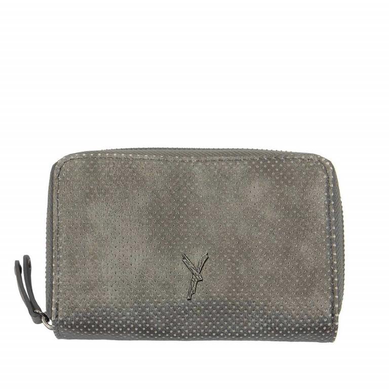 SURI FREY Romy 10222 Damenbörse Reißverschluss Synthetik Dark Grey, Farbe: grau, Marke: Suri Frey, Abmessungen in cm: 15.5x10.0x3.0, Bild 1 von 4