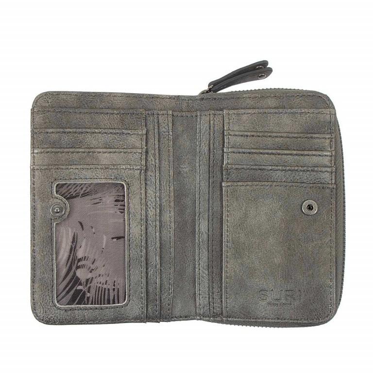 SURI FREY Romy 10222 Damenbörse Reißverschluss Synthetik Dark Grey, Farbe: grau, Marke: Suri Frey, Abmessungen in cm: 15.5x10.0x3.0, Bild 3 von 4