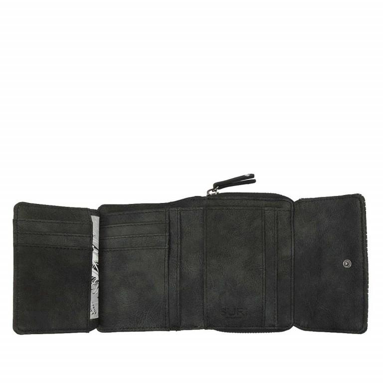 SURI FREY Romy Überschlagbörse Synthetik Black, Farbe: schwarz, Marke: Suri Frey, Abmessungen in cm: 13.0x10.0x3.5, Bild 3 von 4