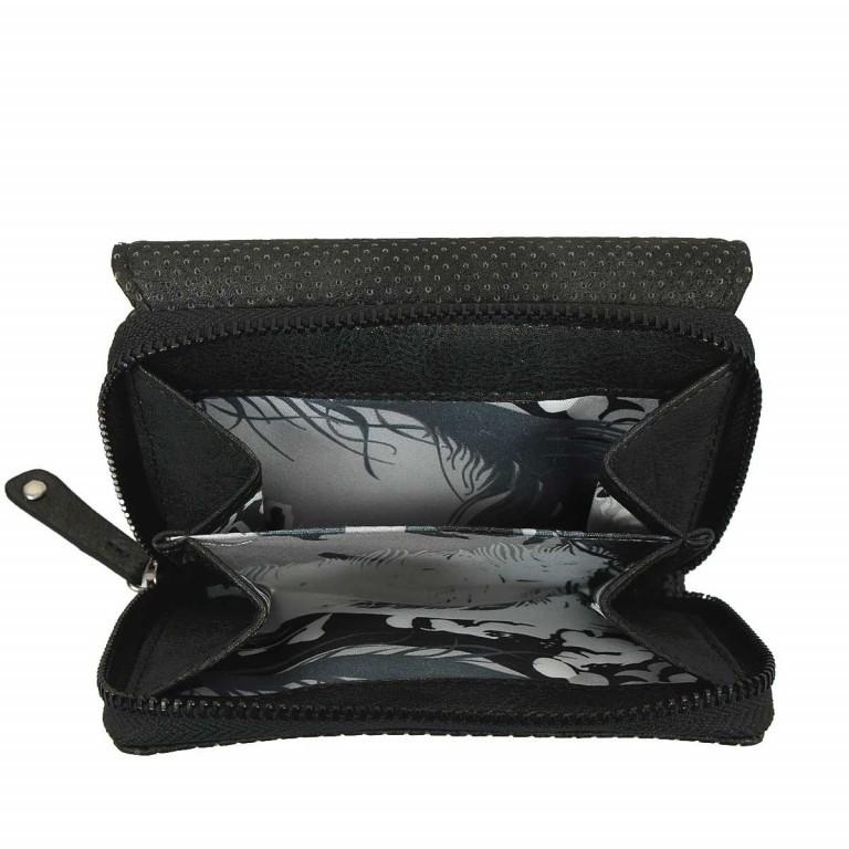 SURI FREY Romy Überschlagbörse Synthetik Black, Farbe: schwarz, Marke: Suri Frey, Abmessungen in cm: 13.0x10.0x3.5, Bild 2 von 4