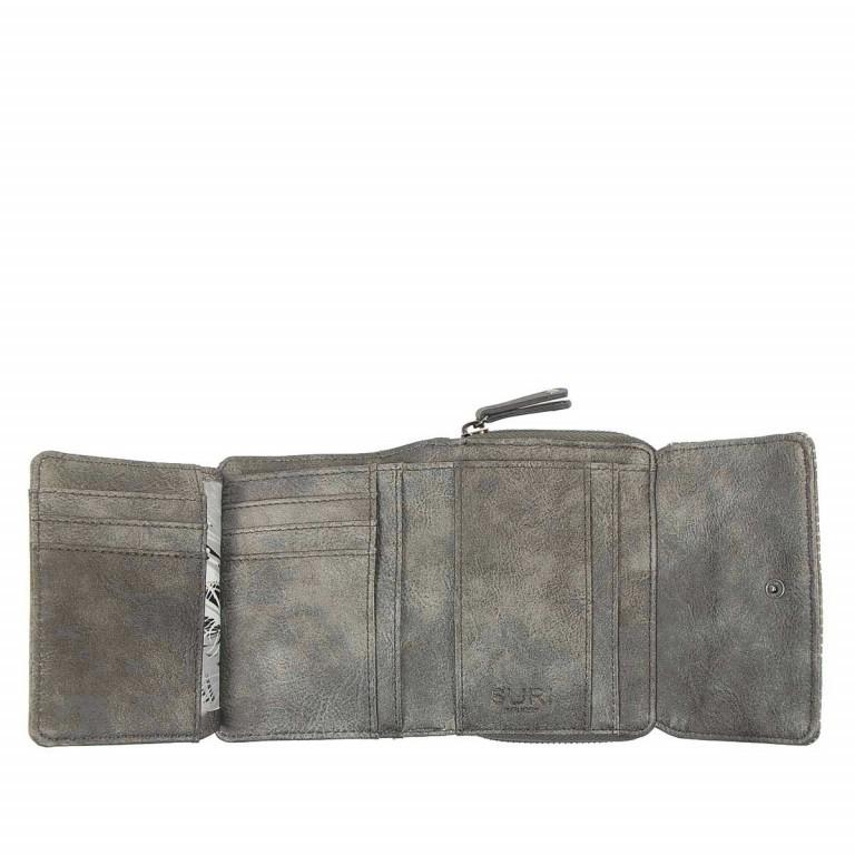SURI FREY Romy Überschlagbörse Synthetik Dark Grey, Farbe: grau, Marke: Suri Frey, Abmessungen in cm: 13.0x10.0x3.5, Bild 3 von 4