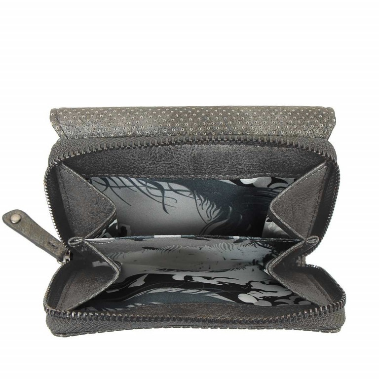 SURI FREY Romy Überschlagbörse Synthetik Dark Grey, Farbe: grau, Marke: Suri Frey, Abmessungen in cm: 13.0x10.0x3.5, Bild 2 von 4