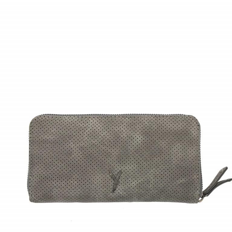 SURI FREY Romy Flachbörse Reißverschluss Synthetik Dark Grey, Farbe: grau, Marke: Suri Frey, Abmessungen in cm: 20.0x10.0x2.0, Bild 1 von 4