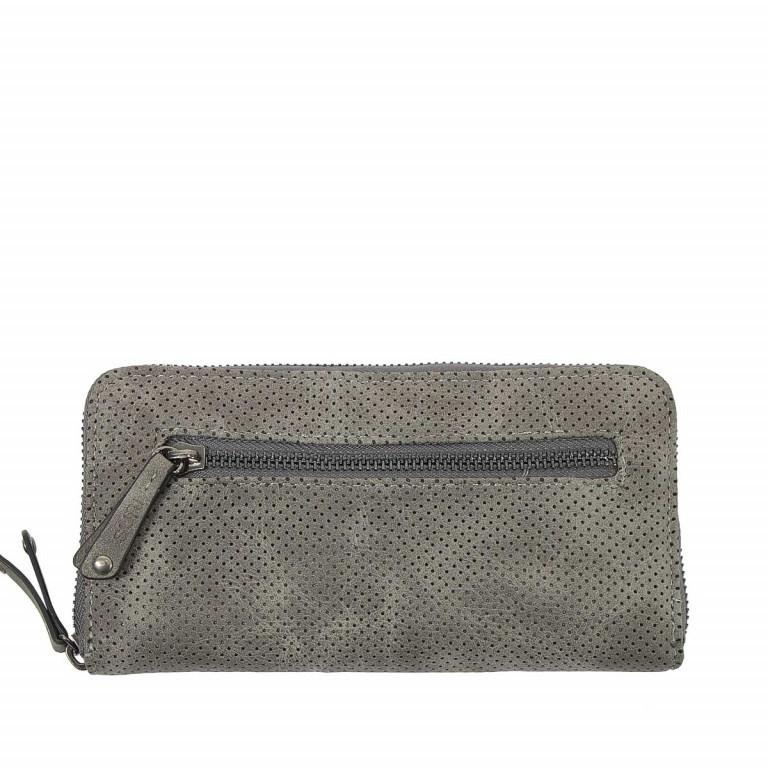 SURI FREY Romy Flachbörse Reißverschluss Synthetik Dark Grey, Farbe: grau, Marke: Suri Frey, Abmessungen in cm: 20.0x10.0x2.0, Bild 2 von 4