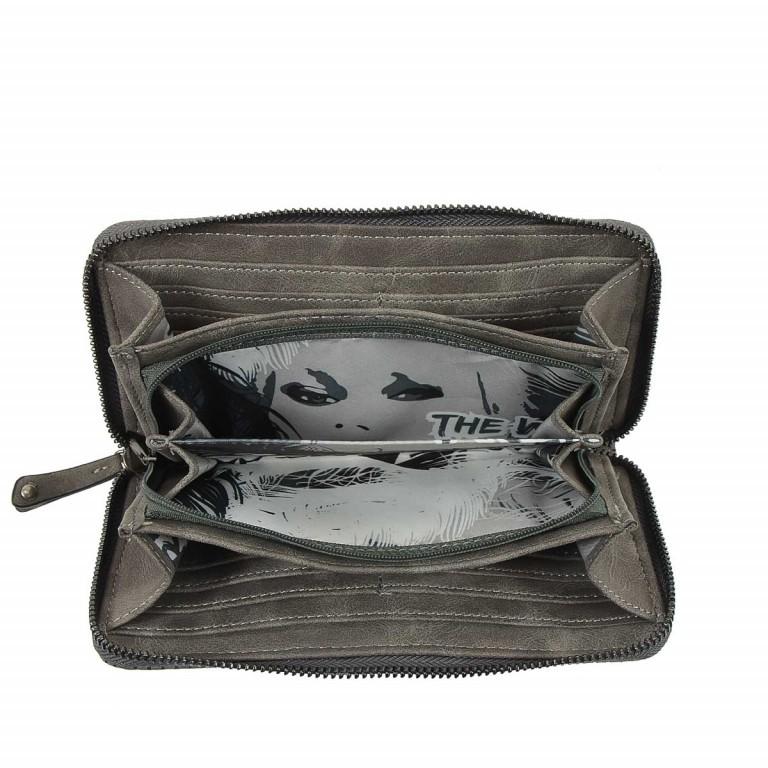 SURI FREY Romy Flachbörse Reißverschluss Synthetik Dark Grey, Farbe: grau, Marke: Suri Frey, Abmessungen in cm: 20.0x10.0x2.0, Bild 4 von 4