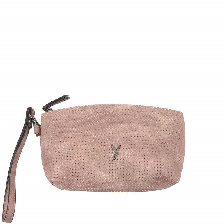 SURI FREY Romy Kosmetiktasche M Reißverschluss Synthetik Rose, Farbe: rosa/pink, Marke: Suri Frey, Abmessungen in cm: 17.0x11.0x4.0, Bild 1 von 3