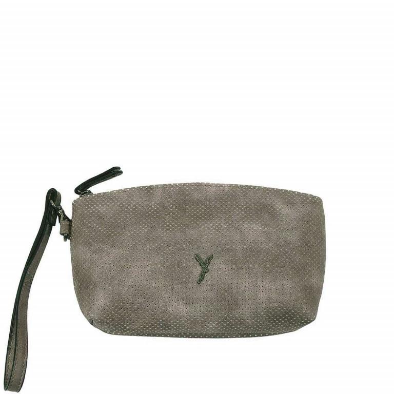 SURI FREY Romy Kosmetiktasche M Reißverschluss Synthetik Dark Grey, Farbe: grau, Marke: Suri Frey, Abmessungen in cm: 17.0x11.0x4.0, Bild 1 von 3