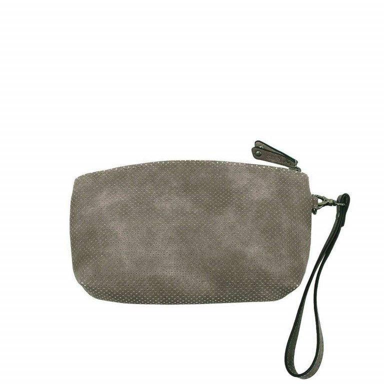 SURI FREY Romy Kosmetiktasche M Reißverschluss Synthetik Dark Grey, Farbe: grau, Marke: Suri Frey, Abmessungen in cm: 17.0x11.0x4.0, Bild 2 von 3
